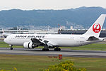 Japan Airlines, B767-300, JA622J (21901137366).jpg