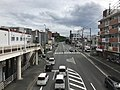 Japan National Route 495 in front of Kyusandai-mae Station 3.jpg