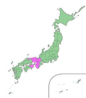 関西広域連合の区域