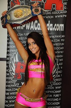 Aliyah (wrestler) - Aliyah is a one-time PWA Women's Champion