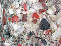 Jasper-quartz pebble conglomerate (Lorrain Formation, Paleoproterozoic, ~2.3 Ga; Ottertail Lake Northeast roadcut, near Bruce Mines, Ontario, Canada) 25 (33832051478).jpg