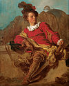 Jean-Honoré Fragonard - Jean-Claude Richard, Abbot of Saint-Non, Dressed 'a l'Espagnole' - Google Art Project.jpg