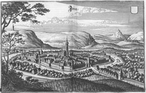Jena - Jena in 1650