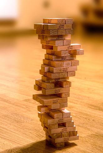 Jenga - A jenga tower