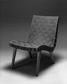 Lounge Chair, Model 654W. 1941