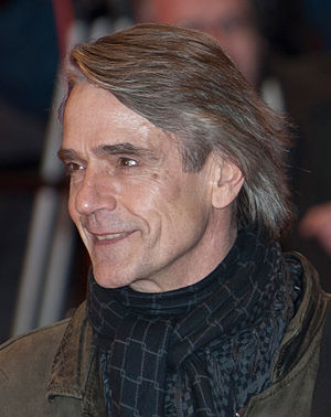 Actor Jeremy Irons presenting his new movie Ma...