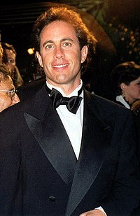 Jerry Seinfeld at the 1997 Emmy Awards