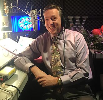 Jim Thornton has been the show's announcer since 2011. Jim Thornton.jpg