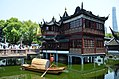 Jiu Qu Quiao bridge and a tea house in a dream like setting (36045396730).jpg
