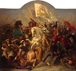 Joan of Arc in Battle (Central Part of ''The Life of Joan of Arc'' Triptych)