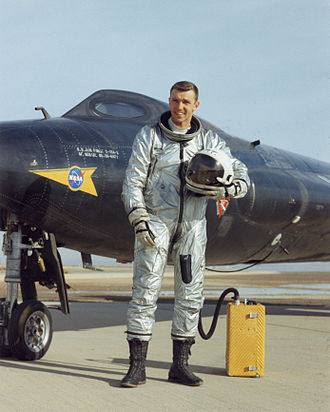 Joe Engle - Engle with the X-15A-2 aircraft in 1965