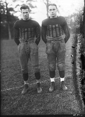 Joe Work - Work (left) and Bill Lohrman in 1922