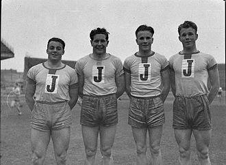 Catholic education in Australia -  GPS athletes from St Joseph's College, Hunters Hill, pictured in 1939.