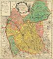 Joh David Schleuen, Das Fürstenthum Teschen map.jpg