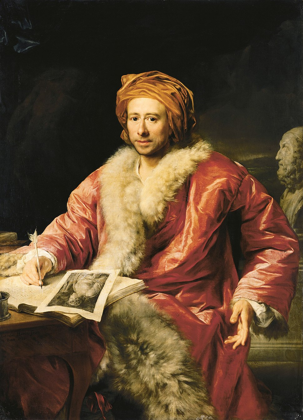 Johann Joachim Winckelmann (Anton von Maron 1768)
