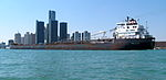 John B Aird downbound on the Detroit River 08 25 2012 079.jpg