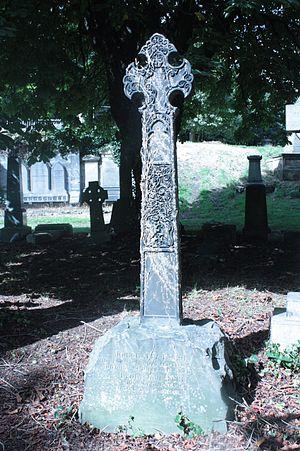 John Batty Tuke - John Batty Tuke's grave, Warriston Cemetery