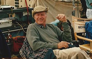 "John Frankenheimer - John Frankenheimer on the set of ""Andersonville"" in 1995"