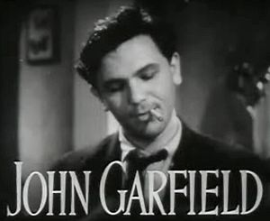 Four Daughters - Image: John Garfield in Four Daughters trailer