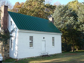National Register of Historic Places listings in Caswell County, North Carolina - Image: John Johnston House 1825
