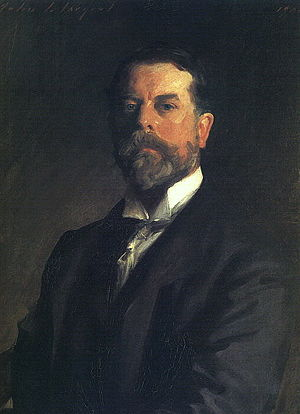 Portraits of Presidents of the United States - John Singer Sargent was the artist who painted Theodore Roosevelt