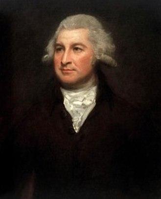 John Willett Adye - John Willett Adye, portrait c.1785 by George Romney