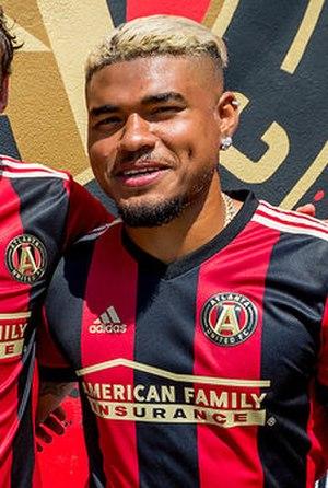 Josef Martínez - Image: Josef Martínez Atlanta United 2017