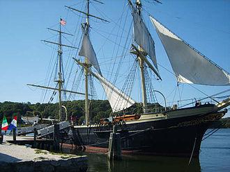 Joseph Conrad (ship) - Joseph Conrad in 2008