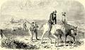 Joseph Lane and Joe Meek (woodcut) in 1848.png