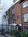 Joseph Mallord William Turner plaque - 119 Cheyne Walk Chelsea SW10 0ES.jpg