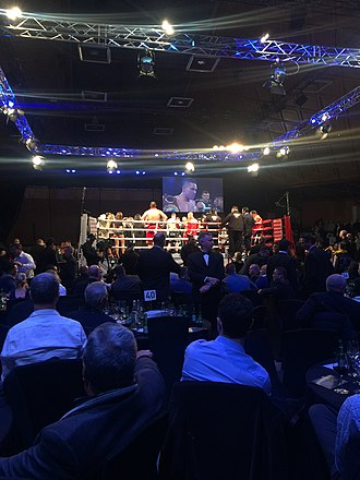 Joseph Parker (boxer) - Parker after his first world title defence against Cojanu, 2017