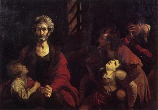 Count Ugolino and his Children in the Dungeon