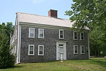 American colonial architecture wikipedia for Types of colonial houses