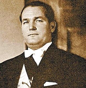 Juan José Arévalo - President Arévalo during his inauguration