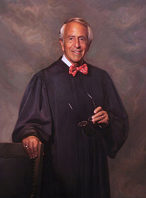 Charles R. Breyer - Judge Charles Breyer's official portrait for the U.S. District Court was painted by Scott Wallace Johnston