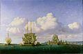 Jules Noël - La Rade de Brest par Temps Calme (1844).jpg