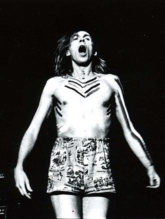 Julian Cope - Cope performing in Japan, 1980s
