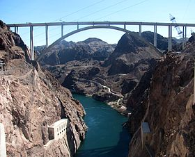 Image illustrative de l'article Mike O'Callaghan-Pat Tillman Memorial Bridge