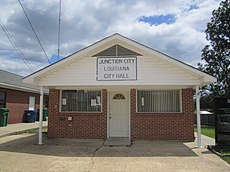Junction City, LA, Town Hall IMG 2574.JPG