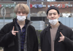 Jus2 going at a Music Bank recording on March 15, 2019.png