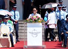 Justin Huang, Taitung county Magistrate Speech in 2013 Opening Ceremony 20130601.jpg