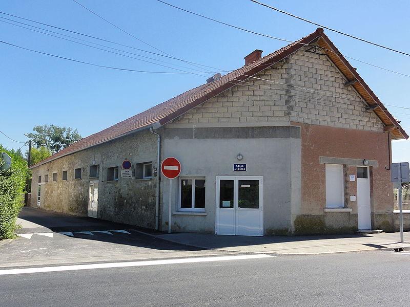 Juvincourt-et-Damary (Aisne) salle des fêtes