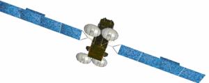 KA-SAT - Artist rendering of the KA-SAT satellite