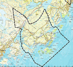 kart over grimstad kommune Eide i Aust Agder – Wikipedia kart over grimstad kommune