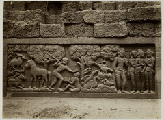 KITLV 28034 - Kassian Céphas - Relief of the hidden base of Borobudur - 1890-1891.tif