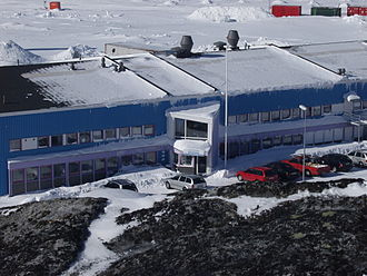 Telecommunications in Greenland - KNR Headquarters in Nuuk