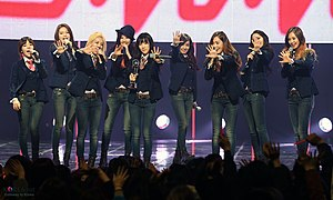 Mr.Mr. (song) - Image: KOCIS Korea Mnet Girls Generation 15 (12986855225)