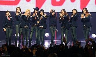Mr.Mr. (song) - Image: KOCIS Korea Mnet Girls Generation 15 (12986855225)