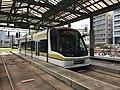 Kagoshima City Tramcar at Kagoshima-Ekimae Station.jpg