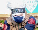 Kakashi Naruto Cosplay - MCM Comic Con 2016 (27398644105).jpg
